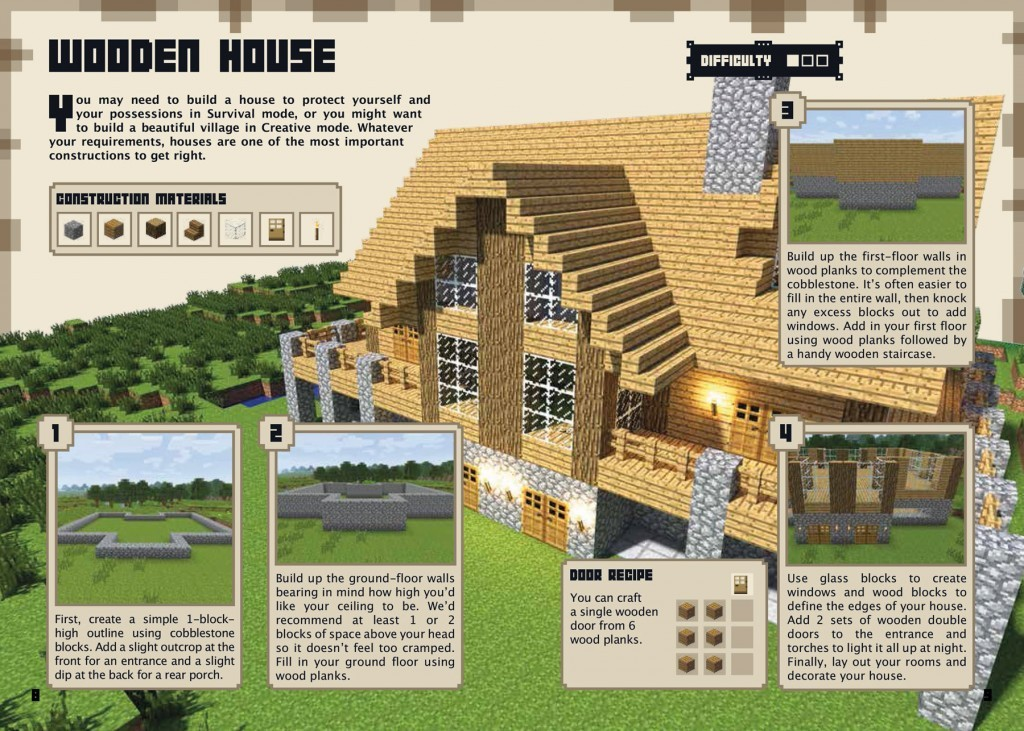 Waterstones minecraft blog Build a house online free