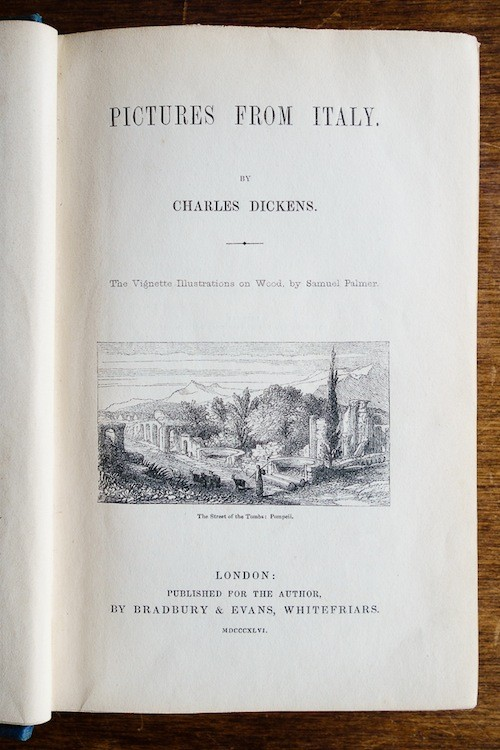 Charles Dickens – Pictures from Italy