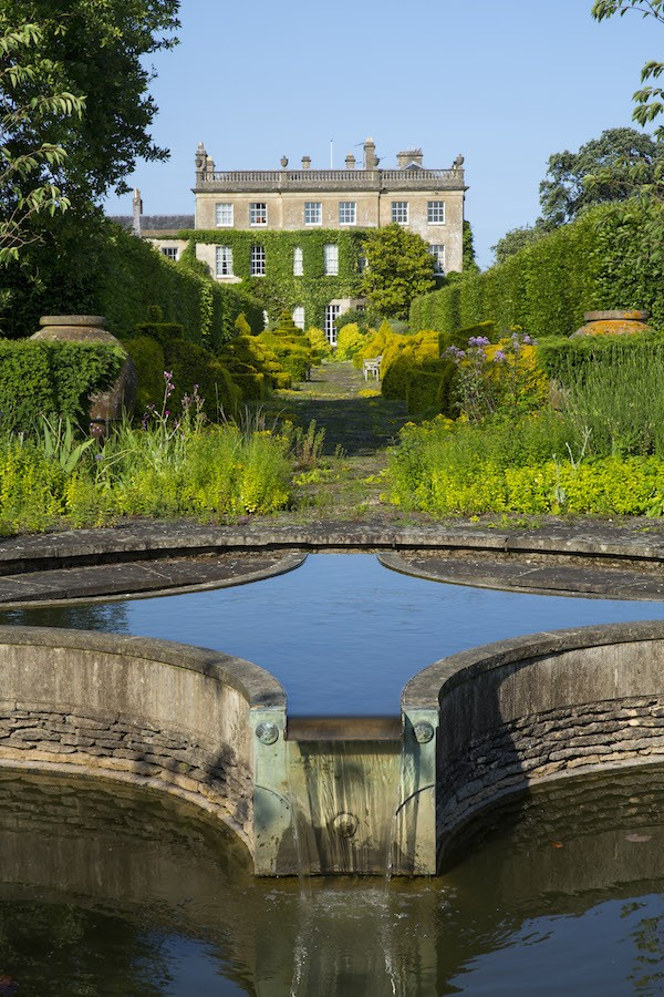 Thyme Walk viewed from the Lily Pool Garden from Highgrove A Garden Celebrated