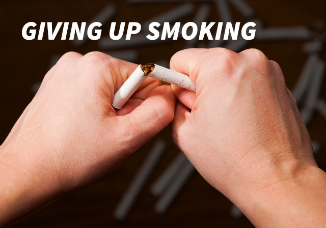 giving up smoking