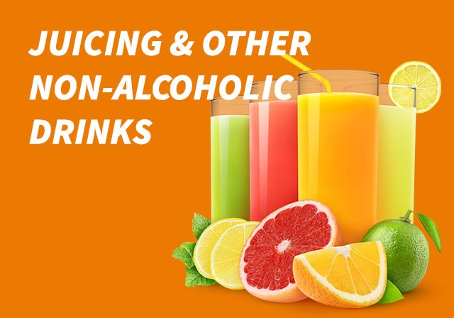 juices & other non alcoholic drinks