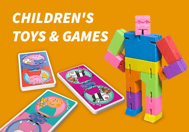 children's toys and games