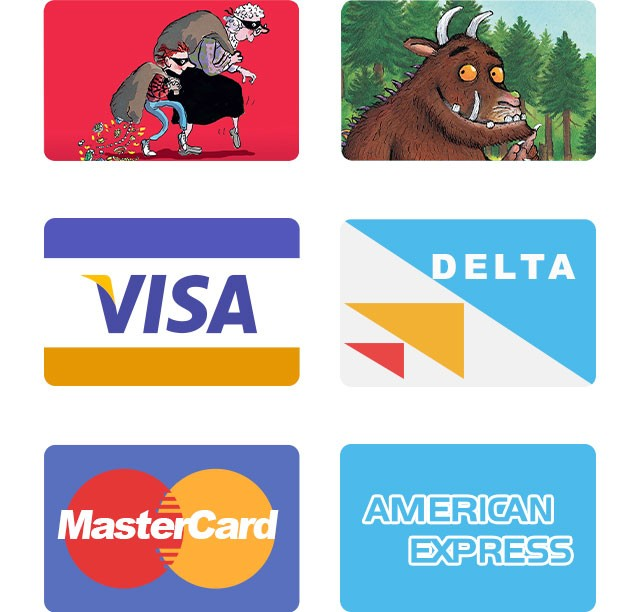 Gift Cards and Payment Cards